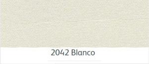ผ้าอะคริลิค สีขาว