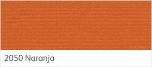 ผ้าอะคริลิค สีส้มสด