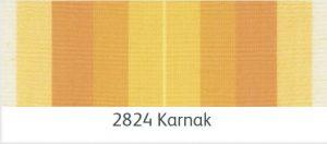 ผ้าอะคริลิค สีลายเหลืองส้มสลับขาว